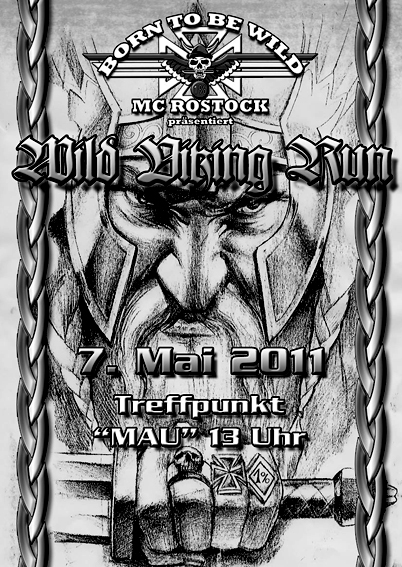 Wild Viking Run 2010 - Info Vorderseite